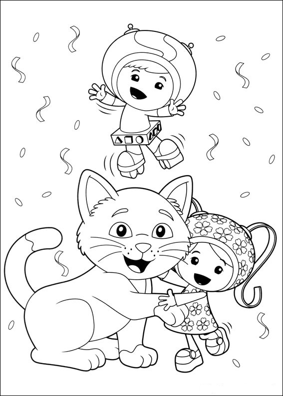 Free coloring pages of puppatrol